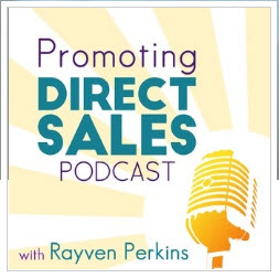 Promoting Direct Sales Podcast graphic